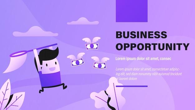 Geschäftsmöglichkeit banner