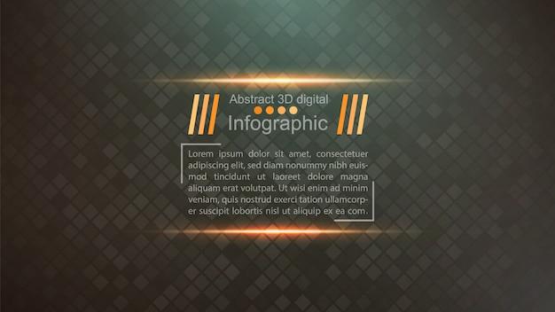 Geschäftspapierschablone - infographic idee