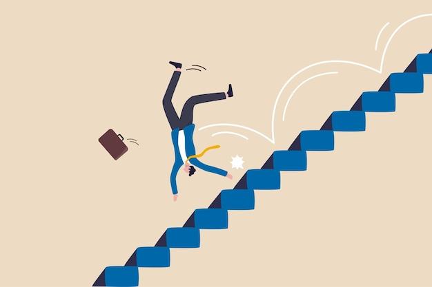Geschäftsrisiko, fehler oder misserfolg, herausforderung oder problem und schwierigkeit