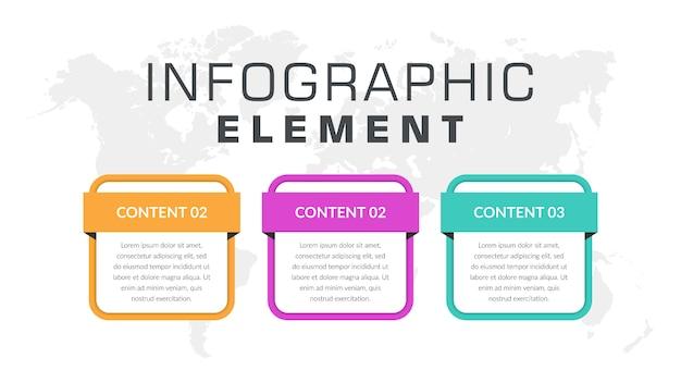 Geschäftsstrategie für infografik-elemente
