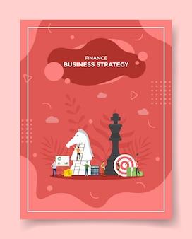 Geschäftsstrategie für vorlage