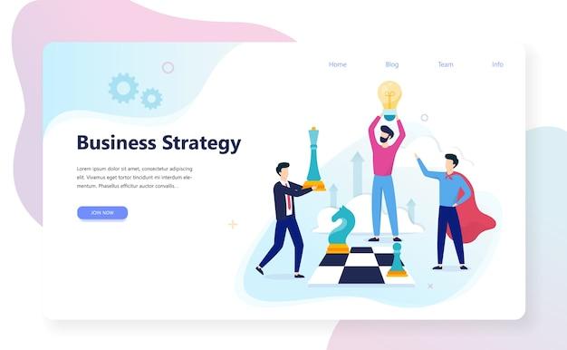 Geschäftsstrategiekonzept. marketingplanung für den erfolg