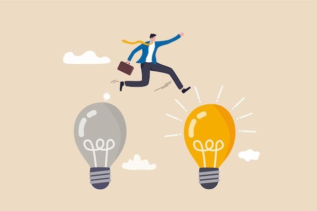 Geschäftstransformation, änderungsmanagement oder übergang zu einem besseren innovativen unternehmen.