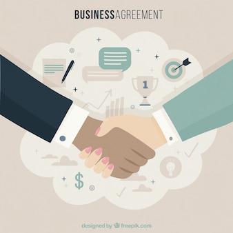 Geschäftsvereinbarung