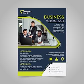 Geschäftsvorlage des plakatentwurfs