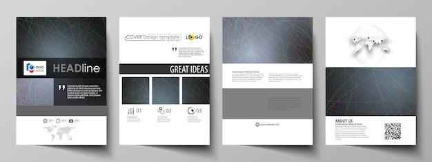 Geschäftsvorlagen für die broschüre