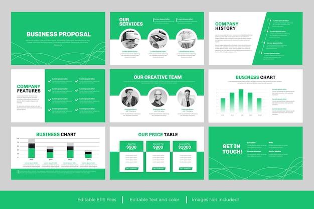 Geschäftsvorschlag powerpoint-vorlage