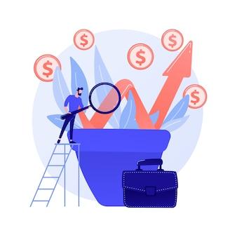 Geschäftswachstumsstrategie. stabile unternehmensentwicklung, einkommenssteigerungsplanung, taktik zur unternehmensförderung. top manager präsentiert unternehmensgewinnbericht.