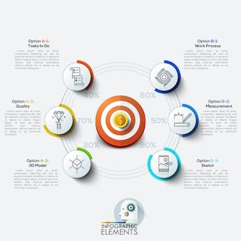 Geschäftsziel-marketing-konzept