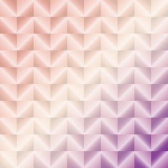 Geschaffener rosa abstrakter Metallvektor quadriert Hintergrund