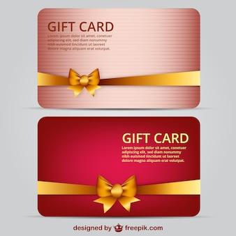 Geschenk-karte vorlage