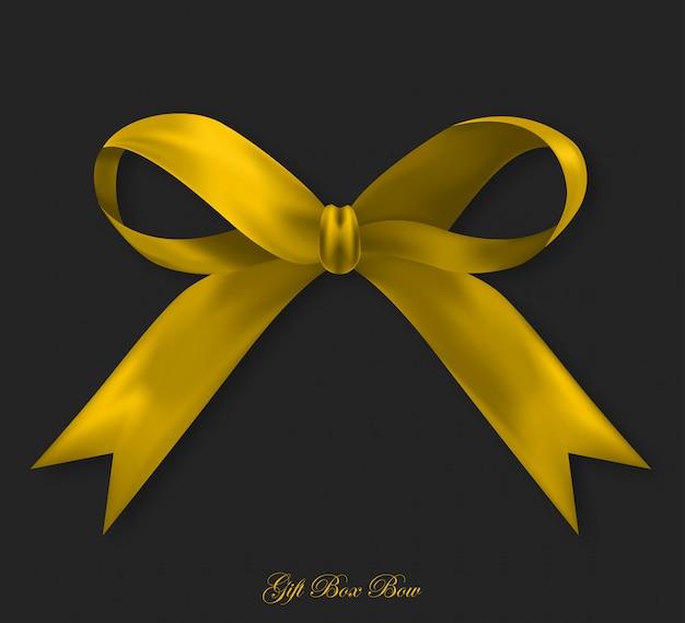 Geschenk seide goldenen bogen