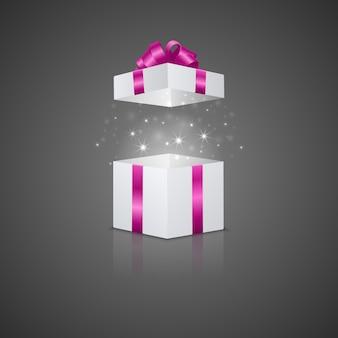 Geschenkbox mit magischem effekt