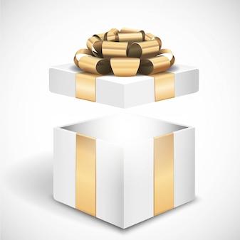 Geschenkbox öffnen