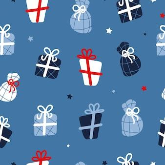 Geschenkboxen mit schleifen für weihnachten geburtstag neujahr