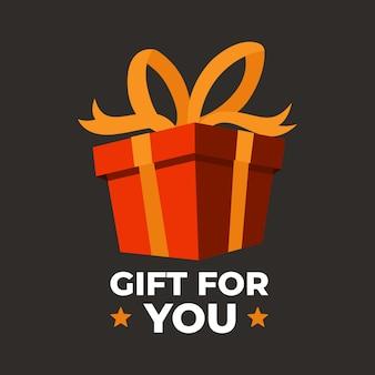 Geschenkboxgeburtstag feiern großes verkaufskonzept des boxentages