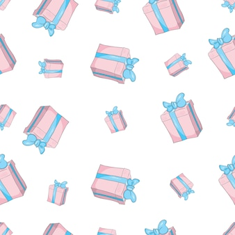 Geschenke nahtlose muster