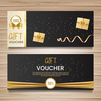Geschenkgutschein designvorlage