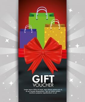 Geschenkgutschein mit sonderverkauf