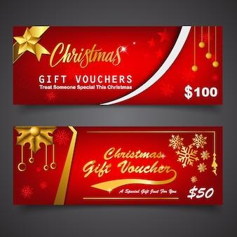 Geschenkgutschein-vorlage für weihnachten