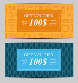 Geschenkgutschein vorlage