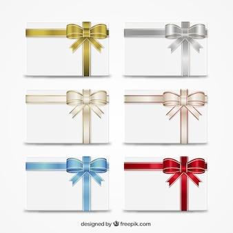 Geschenkgutscheine sammlung