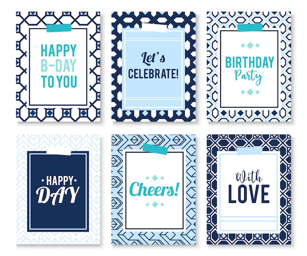Geschenkkarte mit abstraktem hintergrund. illustrationsschablone. banner.