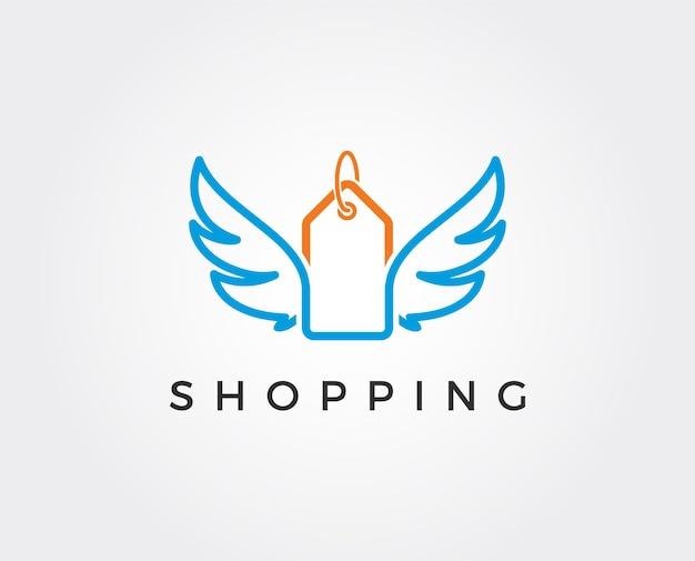 Geschenkladen logo symbol vorlagendesign