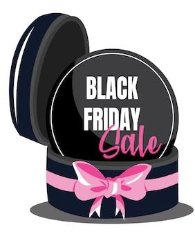 Geschenkverkaufshintergrund mit großem rosa band. wallpaper.flayer, einladung, poster, logo, broschüre, banner, kalender
