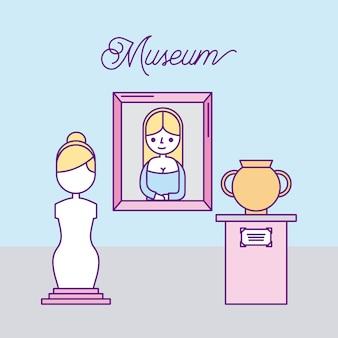 Geschichte museum werbung