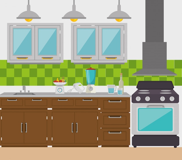 Geschirr für die küche