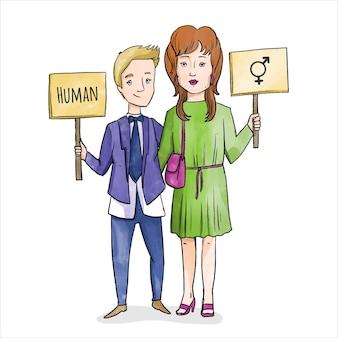 Geschlechtsneutrale bewegung