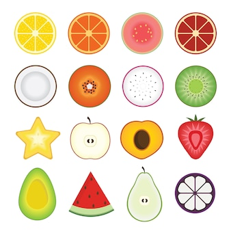 Geschnittene frucht