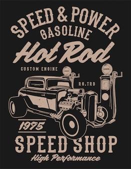 Geschwindigkeit & power hotrod