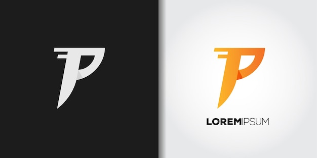 Geschwindigkeitsbuchstabe p-logo
