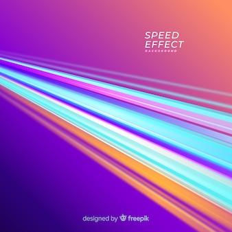 Geschwindigkeitseffekthintergrund