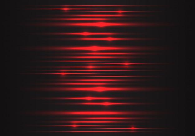 Geschwindigkeitsenergie-technologiehintergrund des roten lichtes.