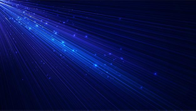 Geschwindigkeitslinie mustertechnologie-innovationshintergrund