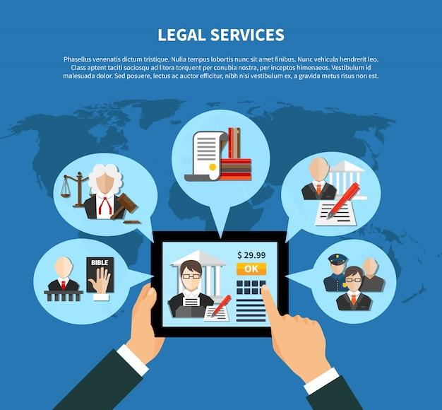 Gesetz in app zusammensetzung