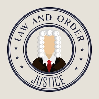 Gesetz und legale gerechtigkeitsgraphik