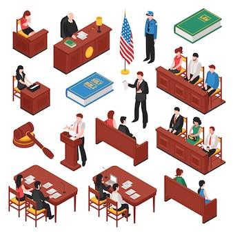 Gesetz und ordnung isometrische set