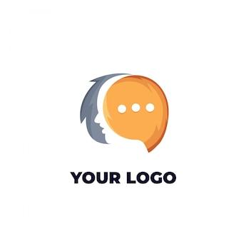 Gesicht chat-logo