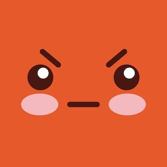 Gesicht Emoticons Design