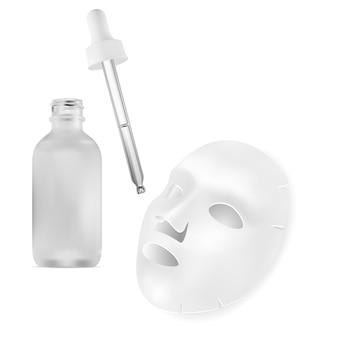 Gesichtsmaskenblatt