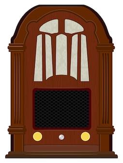 Gestalten sie ein altes radio