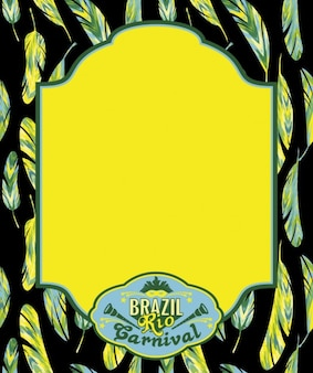 Gestell aus brasilien rio karneval