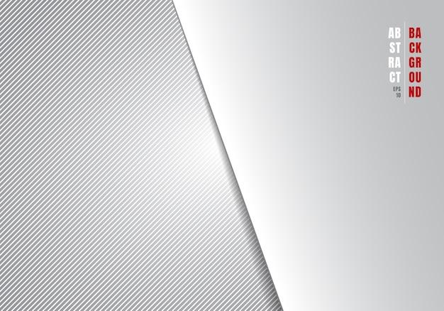 Gestreifte diagonale linien der abstrakten schablone