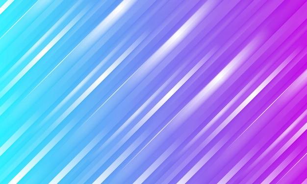 Gestreifter hintergrund der abstrakten lila und blauen textur