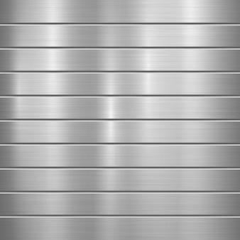 Gestreifter metallhintergrund