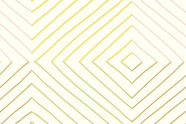 Gestreifter musterhintergrund, gekritzelvektor, einfaches design